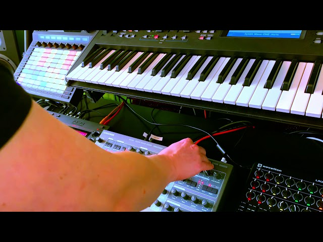 Akai MPC Live - Trance Music Performance Jam like Armada A State of Trance and Guiseppe Ottaviani