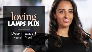 What Farah Merhi Of Inspire Me! Home Decor Loves About Lamps Plus