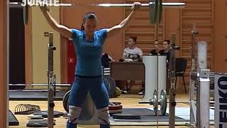 Национальная женская сборная по тяжелой атлетике готовится в Сочи к чемпионату мира. Новости Эфкате