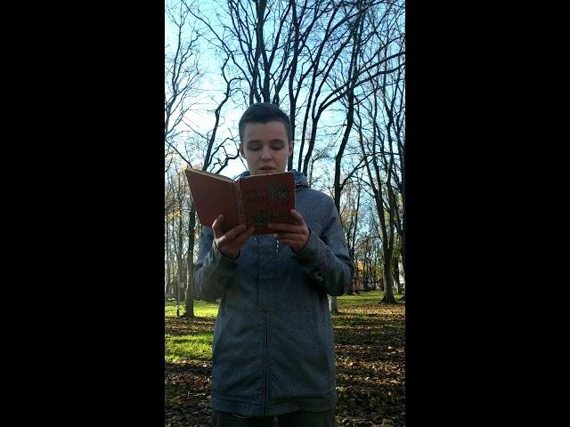 Изображение предпросмотра прочтения – НикитаГросу читает отрывок изпроизведения «Отцы и дети» И.С.Тургенева