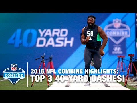 Top 3 Fastest DL 40-Yard Dashes | 2016 NFL Combine Highlights