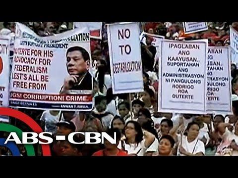 TV Patrol: DILG, hinikayat ang mga LGU sa pro-Duterte rally
