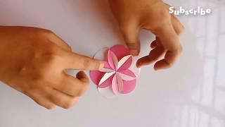Easy DIY Paper Flower | How To Make Beautiful & Easy Paper Flower (Tutorial)