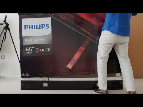 philips-804-oled-tv-unboxing,-setup-&-picture-settings