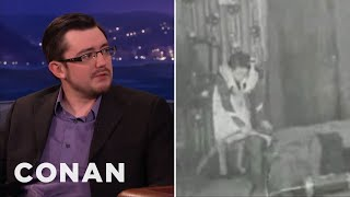 Porn Historian Brian Watson On The Very First Porno Film  - CONAN on TBS