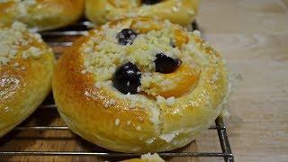 БУЛОЧКИ с Фруктами, Ягодами и Посыпкой |  Buns with fruits and berries