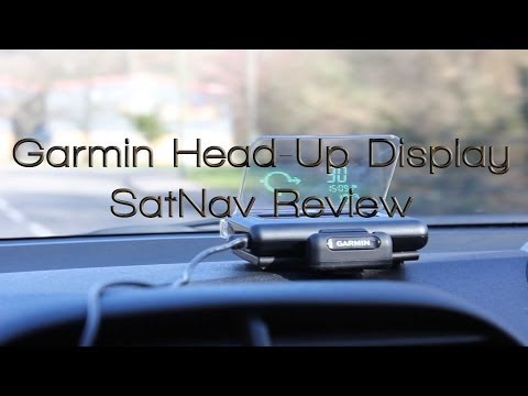 Garmin Head-Up Display SatNav Review
