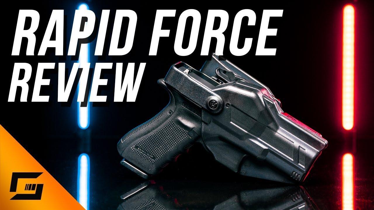 Rapid Force Duty Holster Review | Alien Gear Holsters