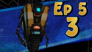 Tales From The Borderlands Ep 5 - Part 3 (Choice Path 2) Felix, Springs, Athena, Secret Vault Hunter