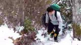 百山紀行ほか3名の4人で登りました.