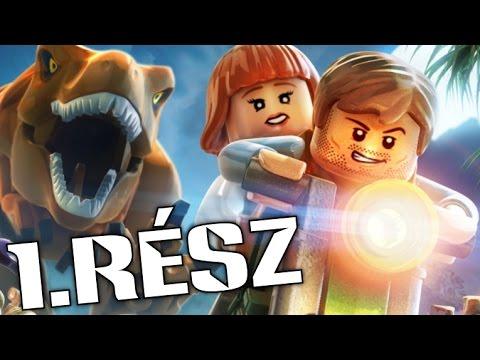 LEGO Jurassic World - Végigjátszás 1.RÉSZ (PS4)