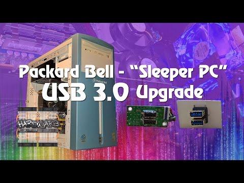 Packard Bell Sleeper PC - Part 3 - USB 3.0 Case Upgrade!