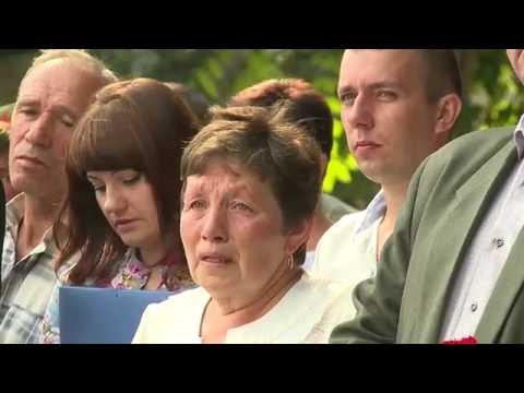 Відкриття меморіалу загиблим бійцям Нацгвардії України в/ч 3028 м  Калинівка