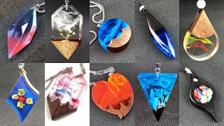 Resin art Amazing 10 styles of pendant jewelry Essence compilation 2 /S63
