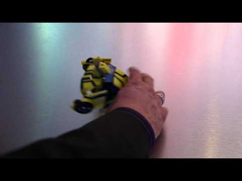 Transformers Prime RC Remote Controlled Bumblebee and Knockout DEMO