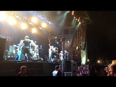 Pennywise feat. NOFX feat. Bad Religion - Bro Hymn live @ Highfield 2013