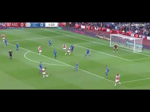Arsenal vs Leicester City | Lacazette goal