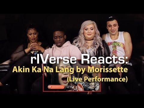 rIVerse Reacts: Akin Ka Na Lang by Morissette -  on Wish 1075 Bus Reaction