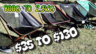 Light Weight Compact Camp Chair Review