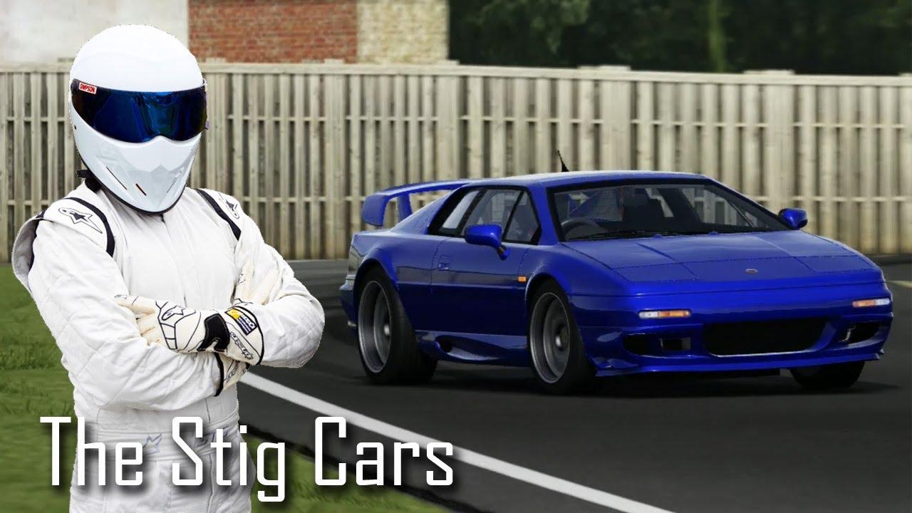 the stig s cars top gear lotus esprit v8 forza 4 motorsport youtube. Black Bedroom Furniture Sets. Home Design Ideas