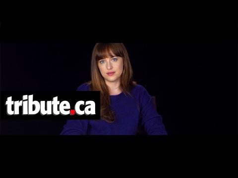 Dakota Johnson Interview - Fifty Shades Darker