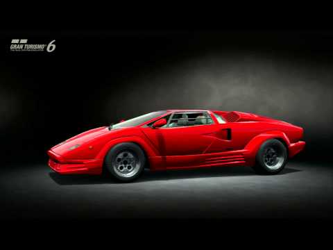 gran turismo 6 lamborghini countach 25th anniversary 39 88 youtube. Black Bedroom Furniture Sets. Home Design Ideas