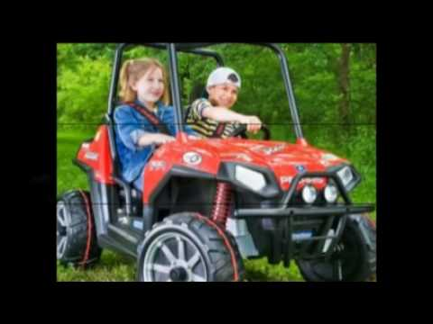 Kids Battery Powered Riding Atvs And Monster Trucks Youtube