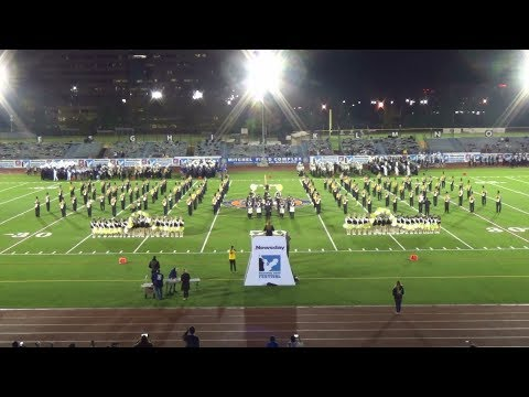 Commack HS Marching Band & Kickline - 2017 Newsday Marching Band Festival