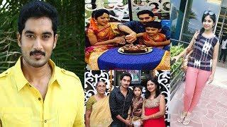 Karthika Deepam Serial Hero Nirupam Real Life Family Photos