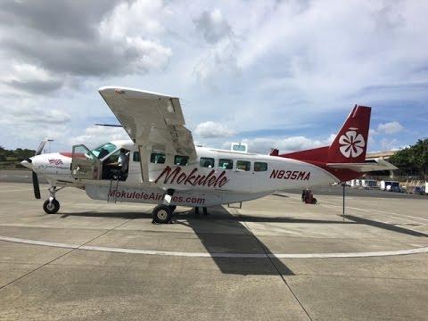 Honolulu to Kapalua West Maui HNL to JHM on Mokulele Airlines