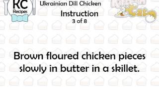 Ukrainian Dill Chicken - Kitchen Cat