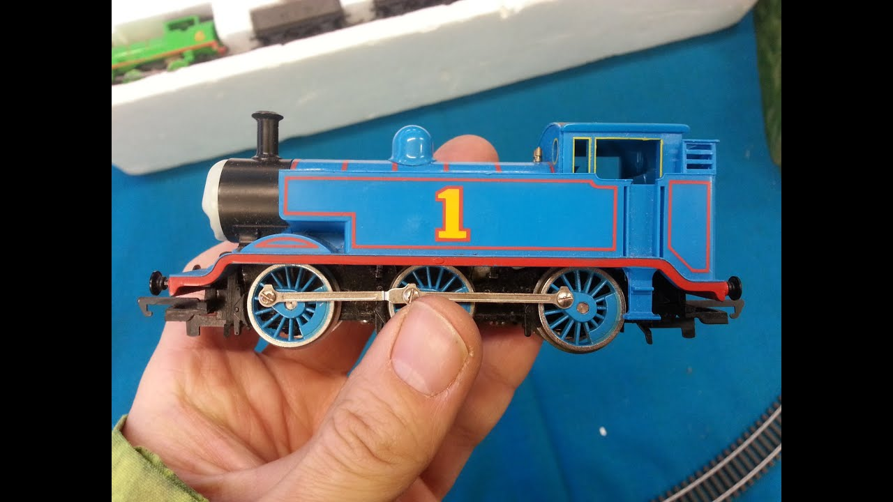Oo Hornby Thomas The Tank Engine Being Test Run On Widnes