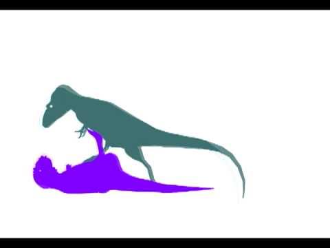 Daspletosaurus vs Majungasaurus (resounded)