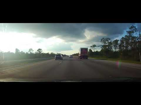 Driving from Fort Myers, FL to Port Charlotte, Florida