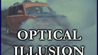Optical ILLUSION: Crazy CAR BurnOut While