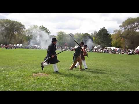 Upper Canada Rebellion 1837 Re enactment   Newmarket Sept 29,2012 22