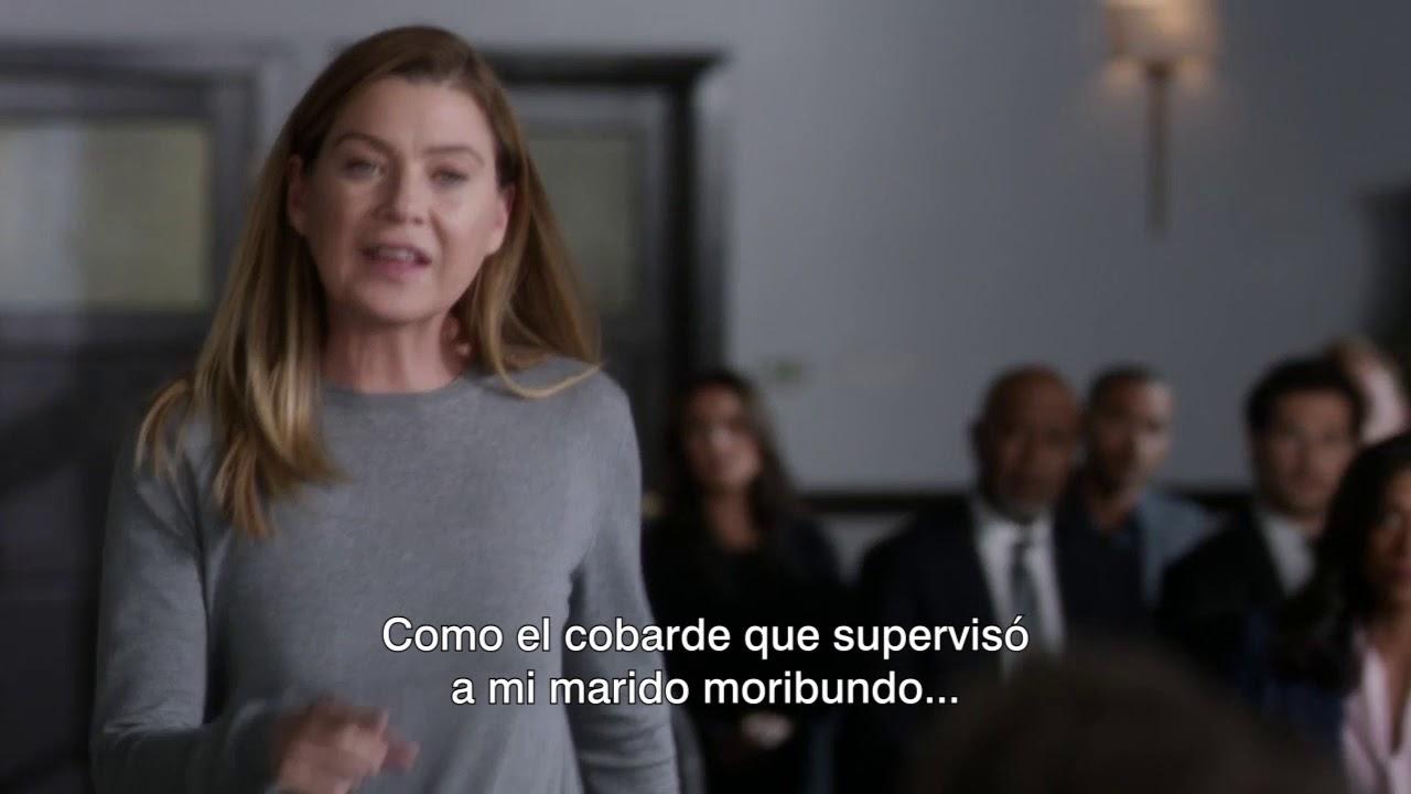 Download Meredith confronta al doctor que mató a Derek l Grey´s Anatomy