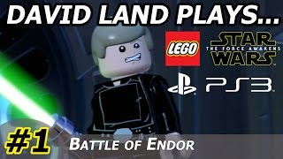David Land Plays: Lego Star Wars: The Force Awakens: #1: Prologue HD PS3 Gameplay