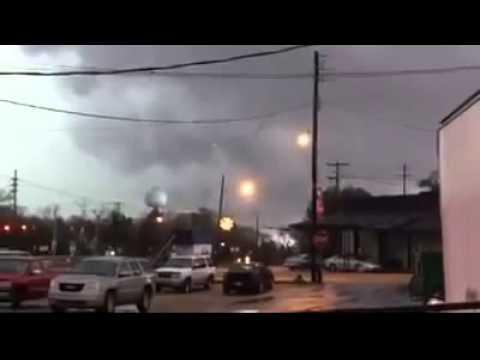 Четвоеро погибших из-за торнадо в США, штат Миссисипи 23 декабря 2014