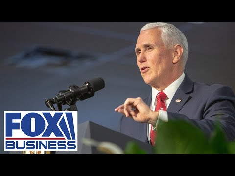 Pence speaks at New England Council event