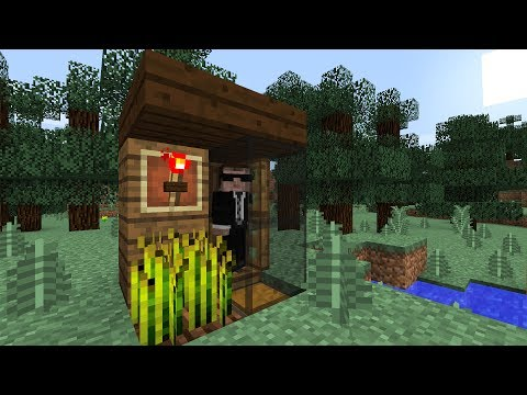 Tiny Fishing Hut - A Minecraft House In Minutes