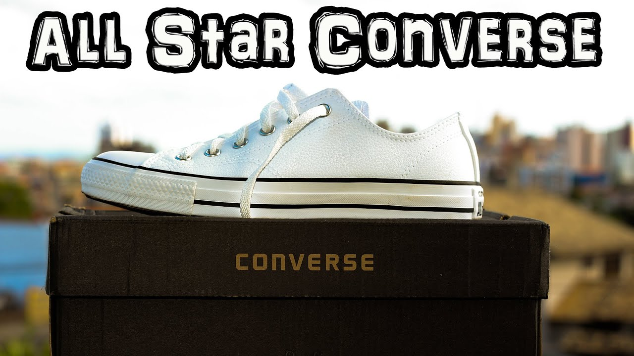 5a5b515b4 Recebendo o Tênis All Star Converse Netshoes - YouTube