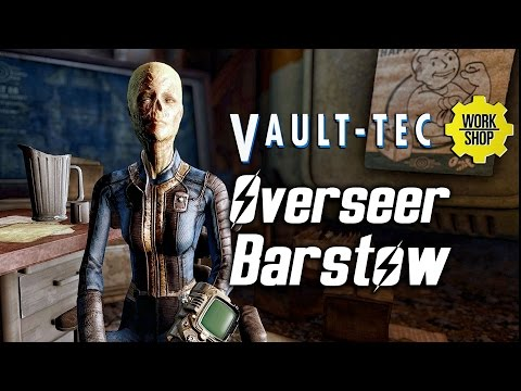 Fallout 4 Vault-Tec DLC - Meeting Overseer Barstow |