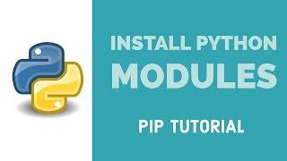 Install Python Modules