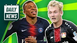 Brandt zum BVB? Leroy Sané zum FC Bayern? Verlässt Kylian Mbappé PSG? Kroos: Real Madrid bis 2023!