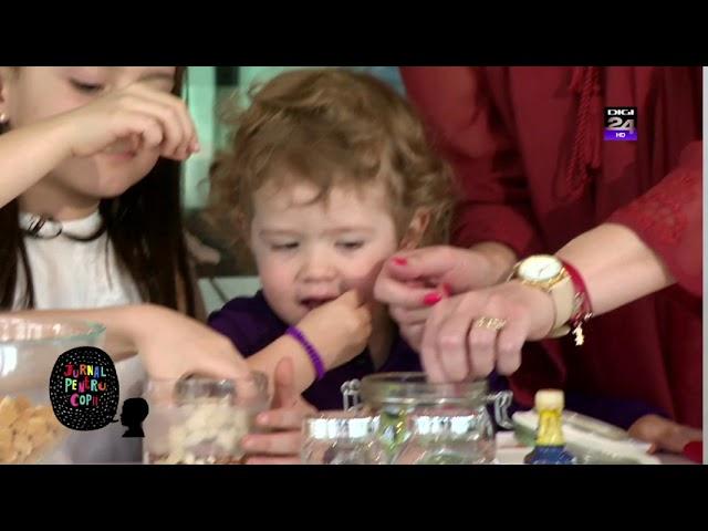Reteta salam de biscuiti - Video Jurnal pentru Copii Digi24