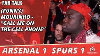 "(Funny) Mourinho - ""Call Me On The Cell Phone""  