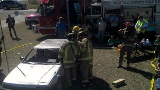 Extrication Demonstration | Wakulla County Fire Rescue