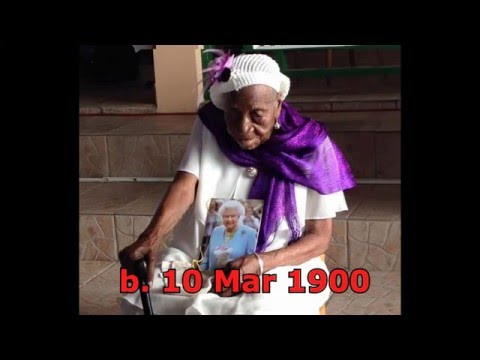 Top 10 Oldest Living People (January 2016)