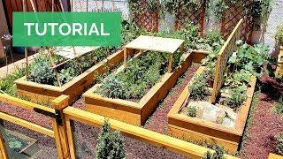 El MEJOR HUERTO URBANO! (tan solo en 1 mes) Crea una Huerta en Casa paso a paso 🌱🔨